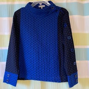 Habitat Textured Sweater with Button Detail Small